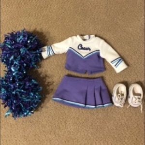 American Girl cheerleading outfit